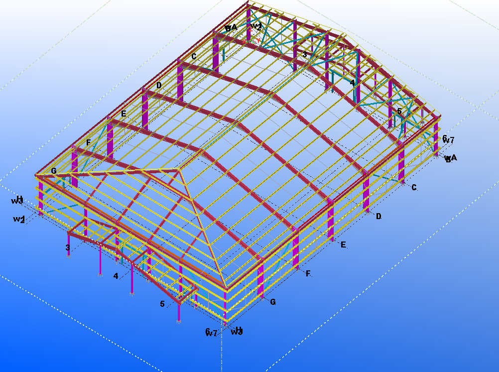 Pkm Providing Steel Detailing Uk Services Industrial